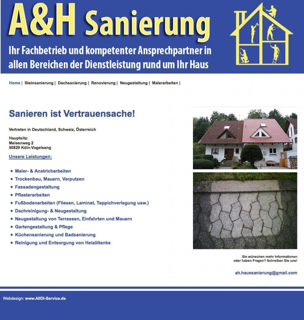 Bilderklau A&H Sanierung
