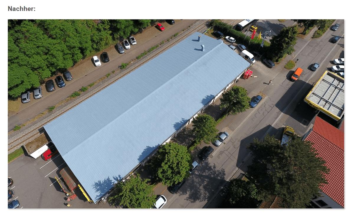 Blechdach Sanierung für 68535 Edingen-Neckarhausen