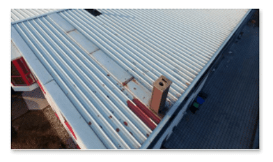 Blechdächer renovieren