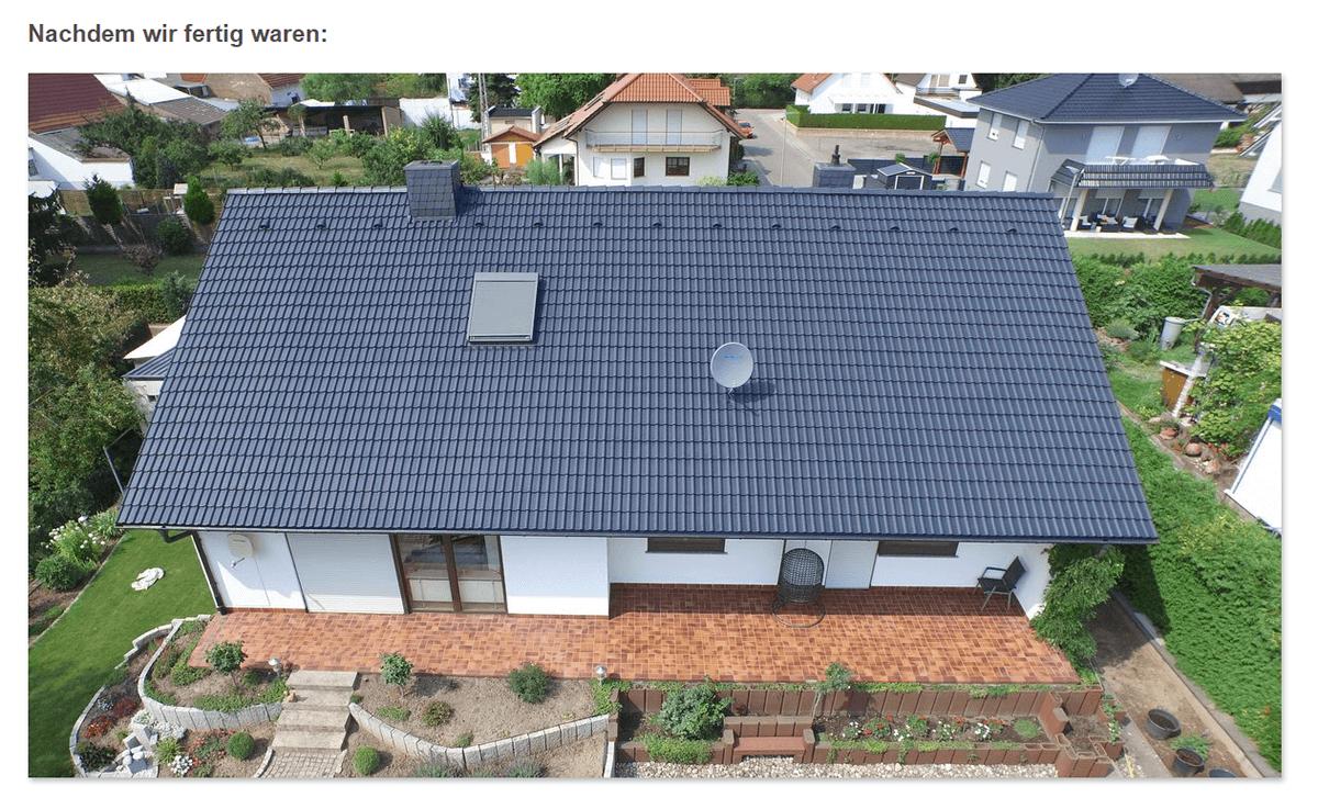 Dachbeschichtung aus  Lohrheim
