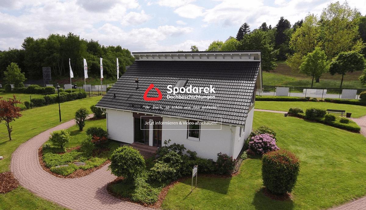 Dachbeschichtungen Trippstadt - SPODAREK: Dachreinigungen, Dachsanierung, Dachdecker Alternative