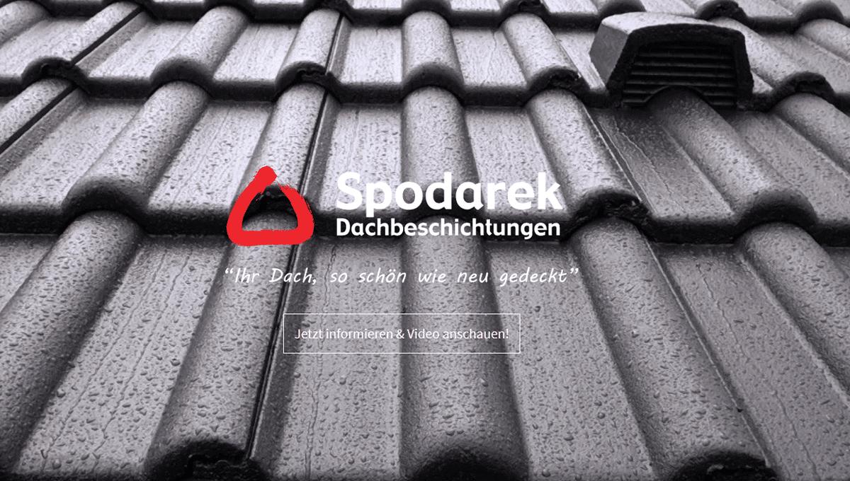 Dachsanierung Büchenbeuren - Spodarek Dachbeschichtungen: Dachreinigung, Dachimprägnierung, Dachrenovierung