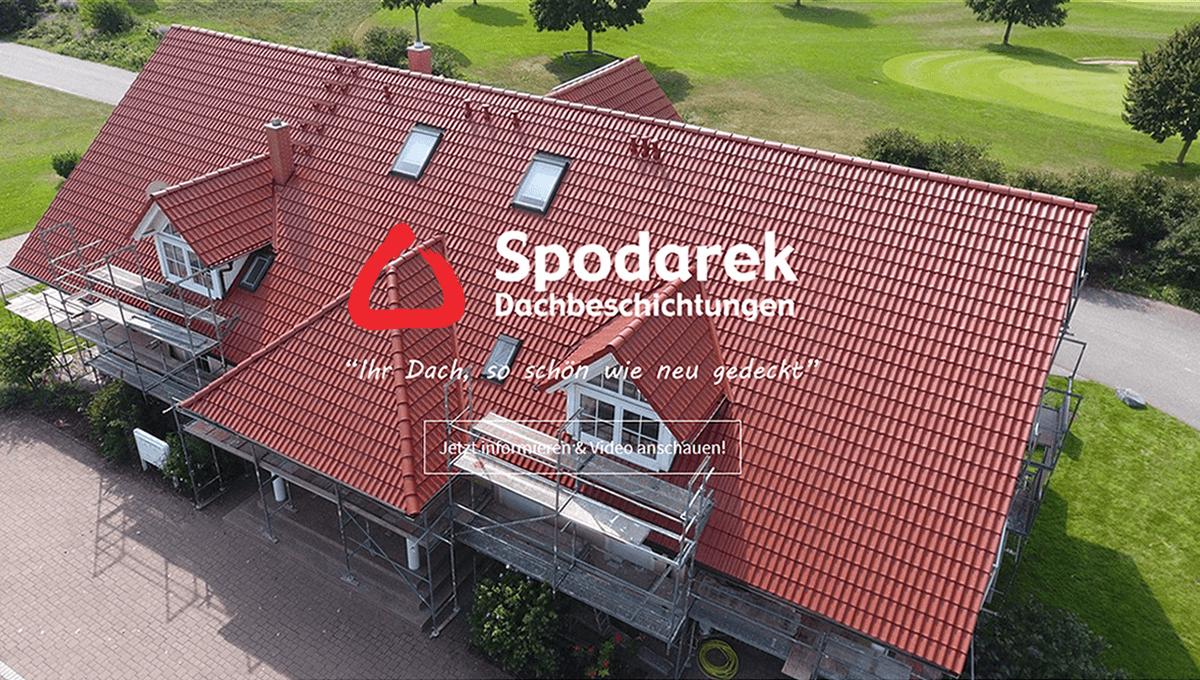 Dachsanierung für Mastershausen - Spodarek Dachbeschichtungen: Dachrenovierung, Dachreinigung, Dachimprägnierung