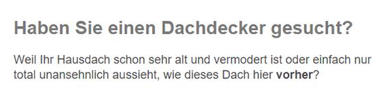 Dachdecker / Zimmerei für  Kaiserslautern, Rodenbach, Mehlbach, Trippstadt, Otterbach, Otterberg, Stelzenberg oder Mehlingen, Katzweiler, Hochspeyer