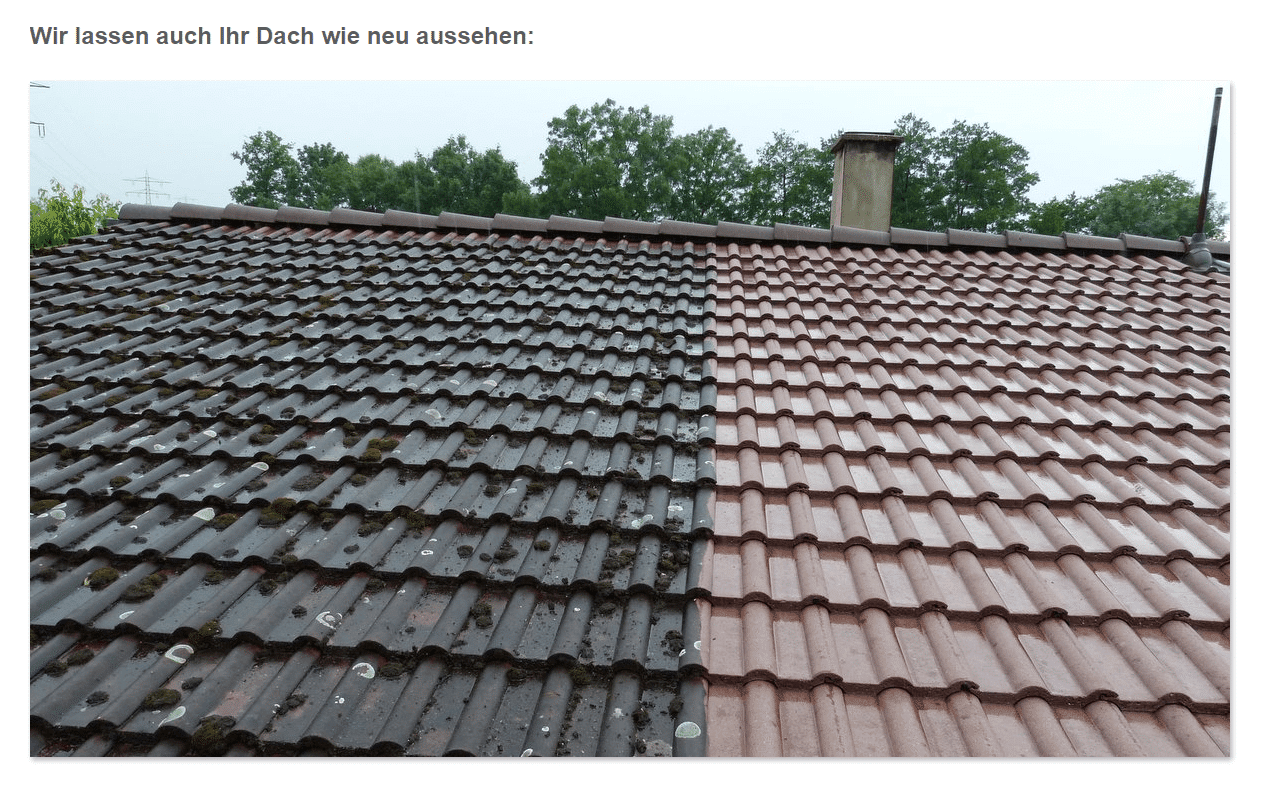 Dacherneuerungen, Dachneueindeckung