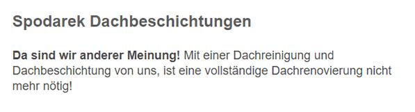 Dachreinigungen für 78050 Villingen-Schwenningen - Spitel, Tannheim, Viehhof, Villingen, Vockenhausen, Vockenheim und Bertholdshöfe, Sommertshausen, Spitalhöfe