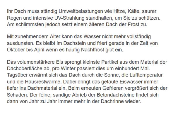 Dachrenovierung für  Altbach