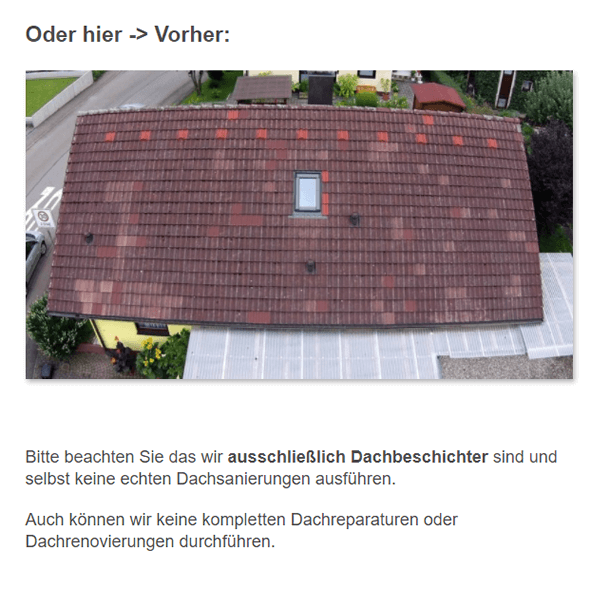 Dachreparaturen in  Filsen