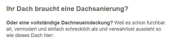 Dachsanierungen aus  Tübingen, Ammerbuch, Dußlingen, Gomaringen, Kusterdingen, Kirchentellinsfurt, Wannweil oder Dettenhausen, Rottenburg (Neckar), Nehren