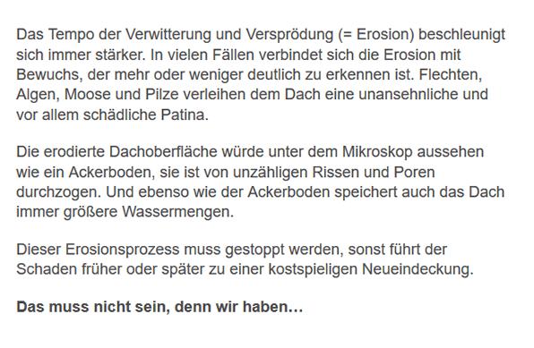 Dachsanierung aus  Ebringen - Wittnau, Schallstadt oder Pfaffenweiler