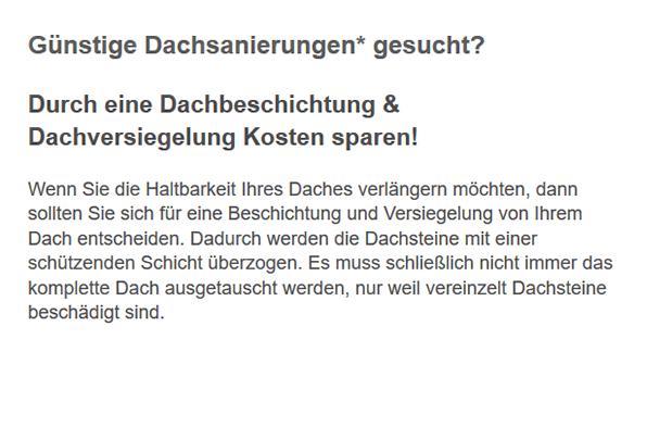 Dachsteine Dachsanierungen Experte für  Oberasbach