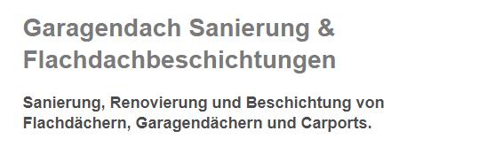 Garagendach Sanierung in  Bell, Wehr, Kottenheim, Thür, Mendig, Ettringen, Rieden oder Glees, Sankt Johann, Volkesfeld