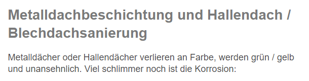 Hallendachsanierung für 87740 Buxheim, Memmingerberg, Berkheim, Trunkelsberg, Tannheim, Memmingen, Heimertingen oder Benningen, Aitrach, Niederrieden