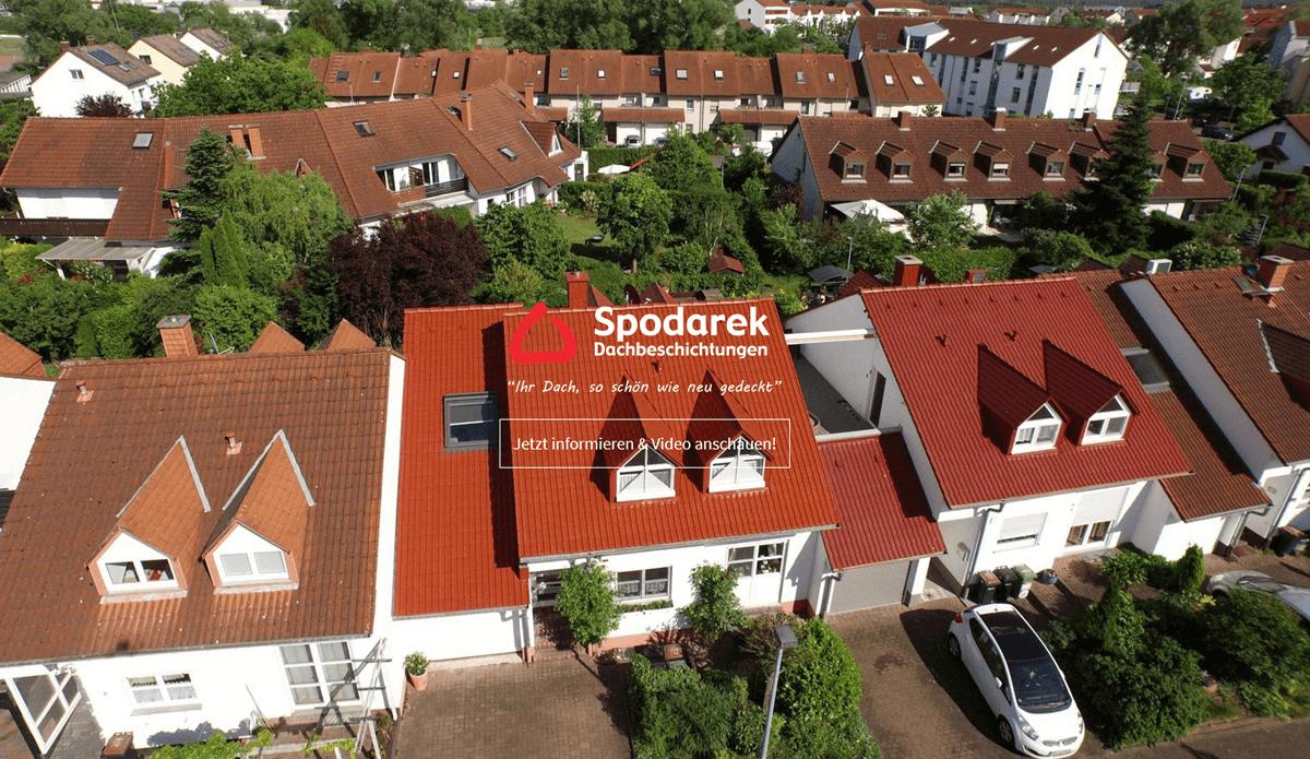 Dachbeschichtung Merchweiler - SPODAREK: Dachreinigungen, Dachsanierung, Dachdecker Alternative