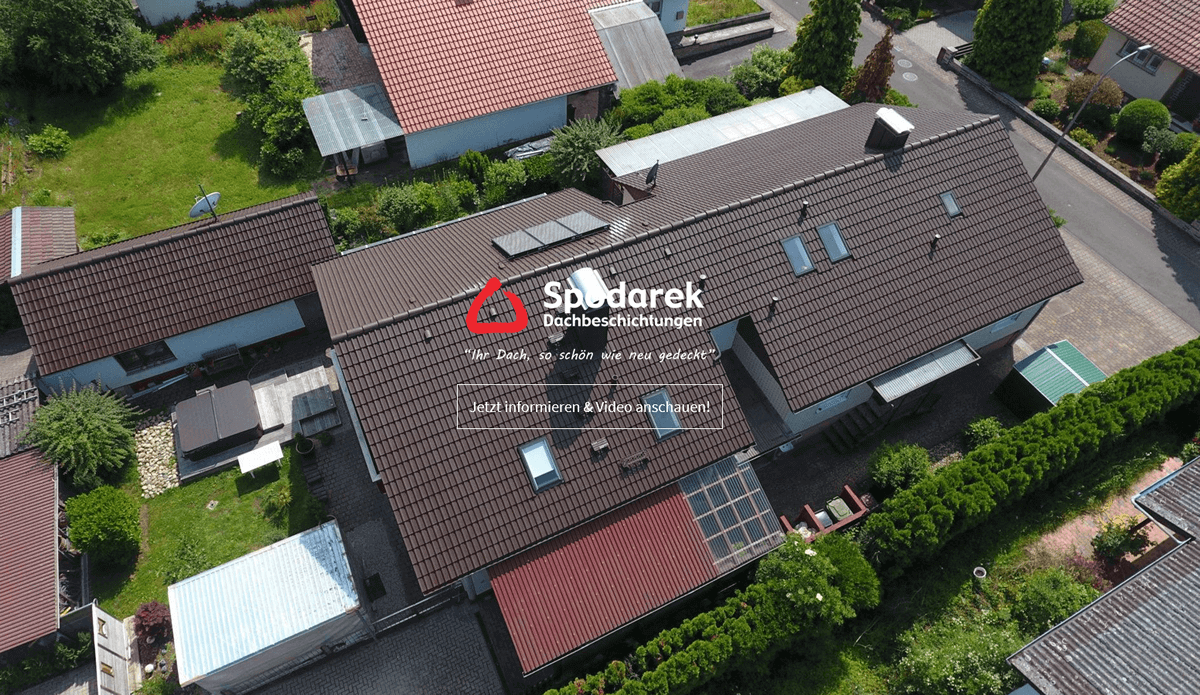 Dachbeschichtung für Allensbach - SPODAREK: Dachdecker Alternative, Dachreinigung, Dachsanierungen