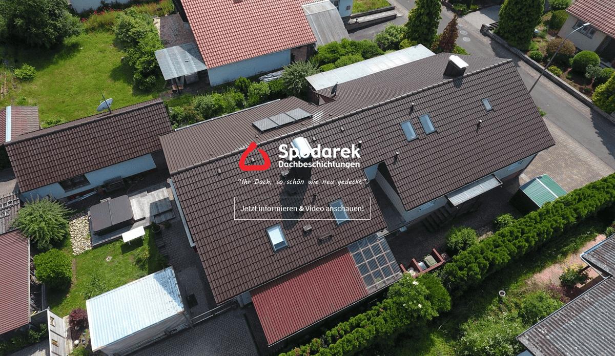 Dachbeschichtung Gusterath - SPODAREK: Dachsanierung, Dachreinigungen, Dachdecker Alternative